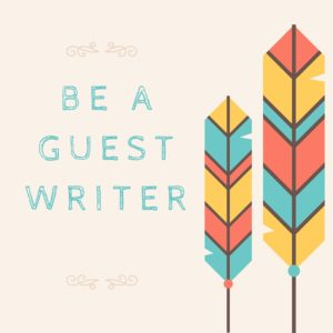 be a guest writer