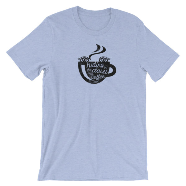 Girl with Coffee Short-Sleeve Unisex T-Shirt