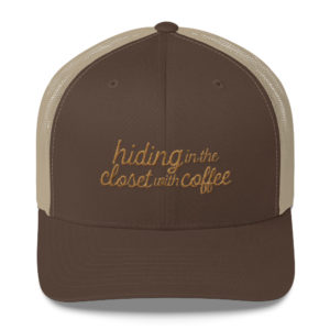 HITCWC Brown and Khaki Trucker Cap