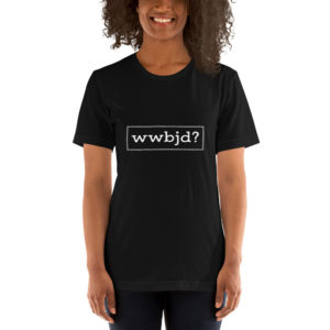 What Would Baby Jesus Do Short-Sleeve Unisex T-Shirt