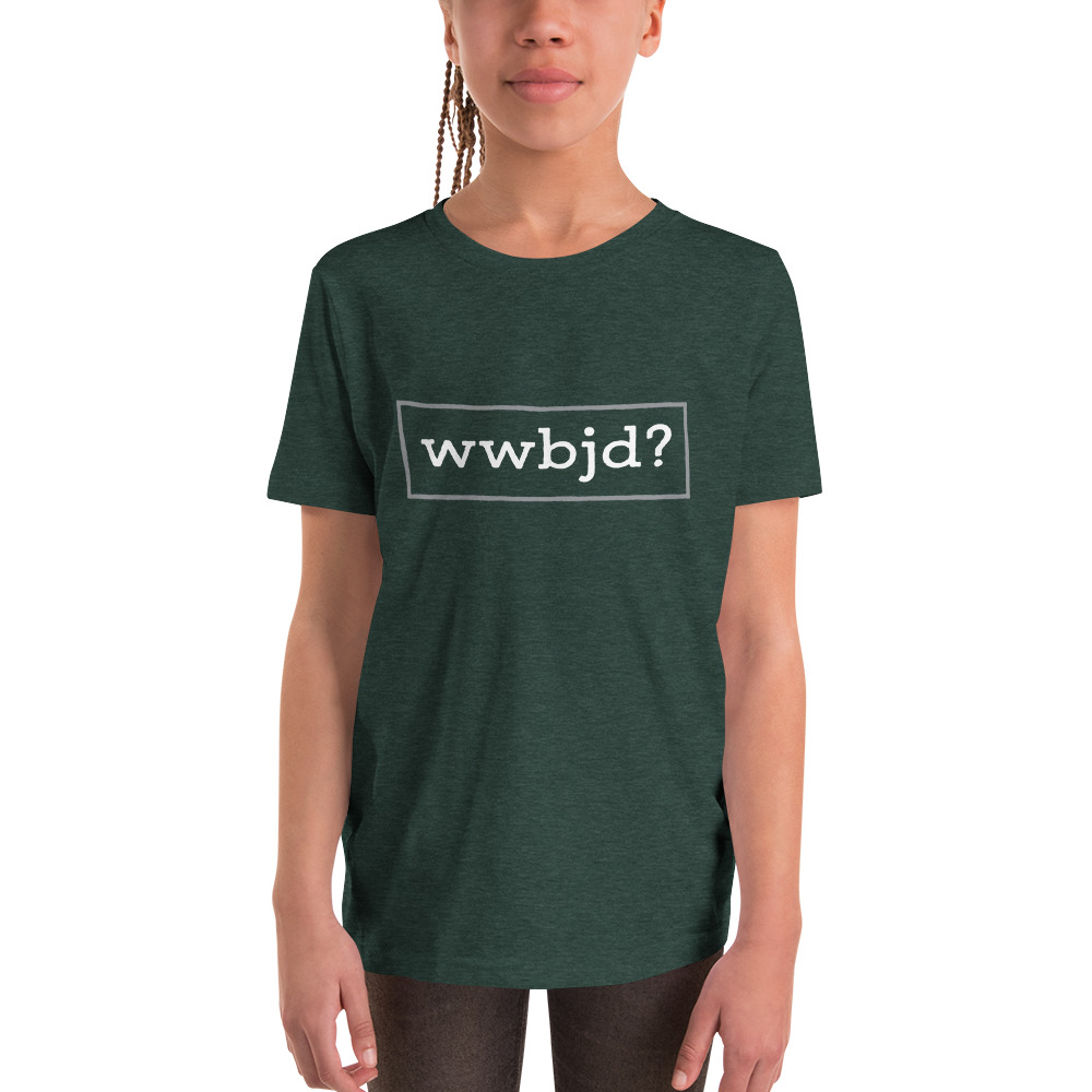 What Would Baby Jesus Do Youth Short Sleeve T-Shirt