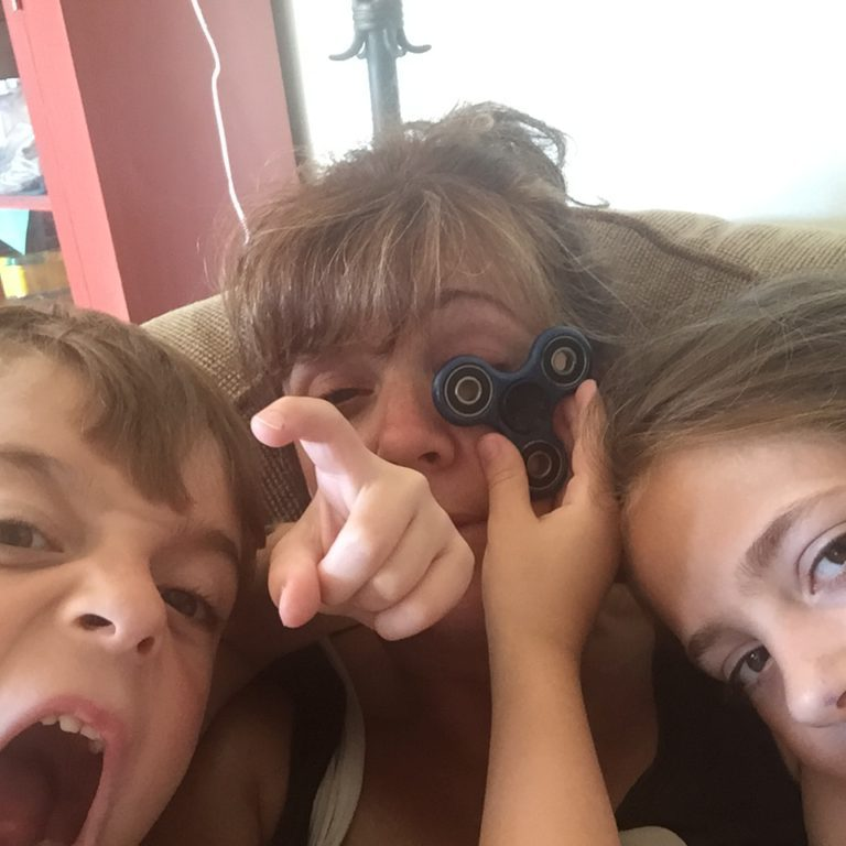 crazy kids on couch