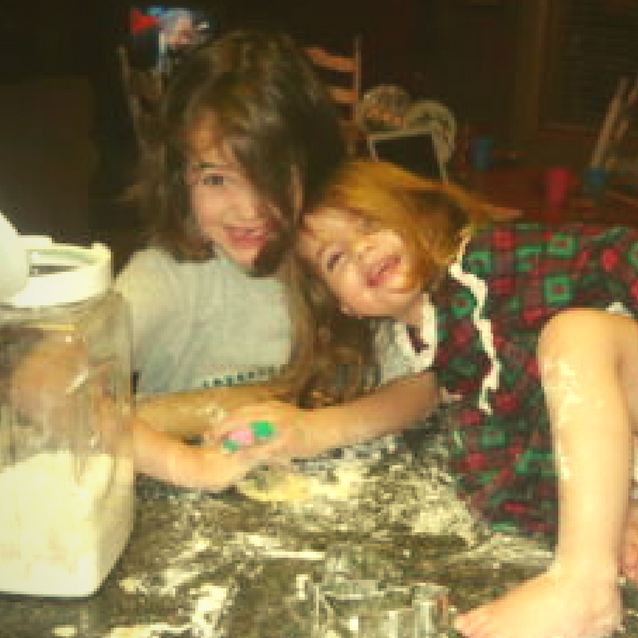 Kate and Lily Embrace the Mess